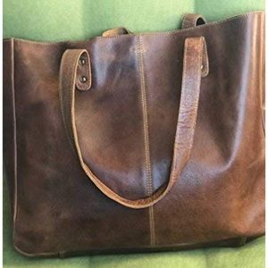 Fantastic Real Leather Tote!!